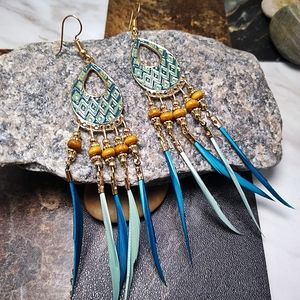 🐞2/$20 Ethnic Style Long Earrings